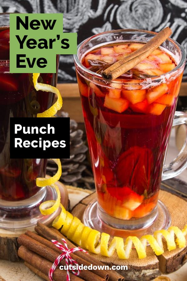 New Year's Eve Punch Recipes   Punch recipes, New year's ...