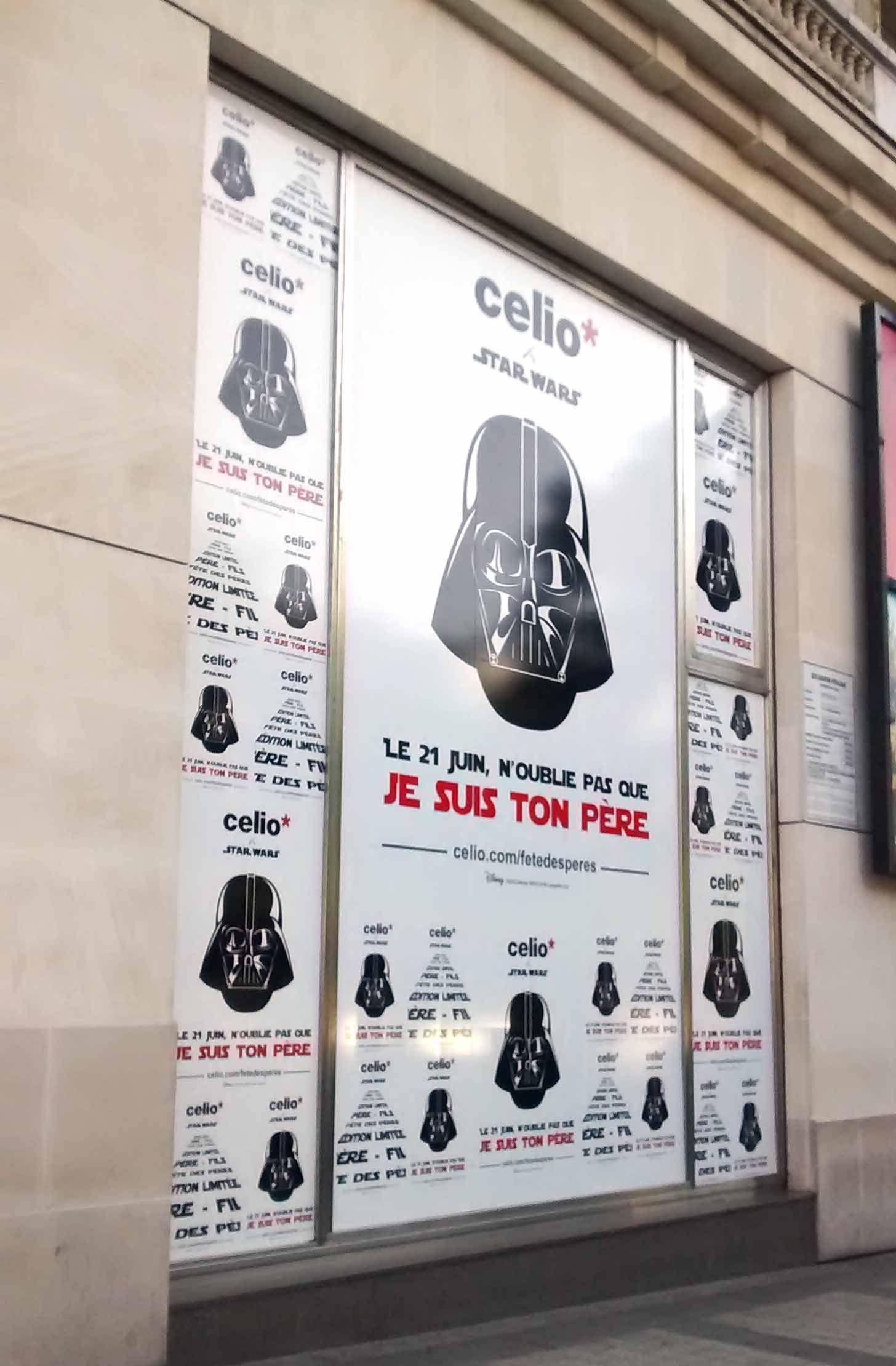 Celio Vitrine Fetedesperes Paris Juin 2015 Avec Images Vitrine Vitrine Magasin Celio