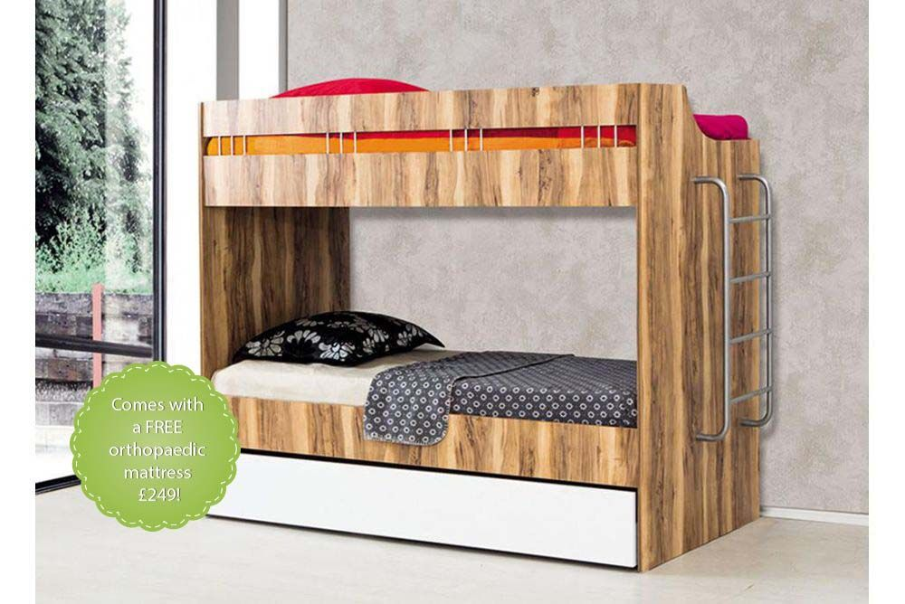 Compact Childrens Bunk Beds With Trundle Childrens Bunk Beds