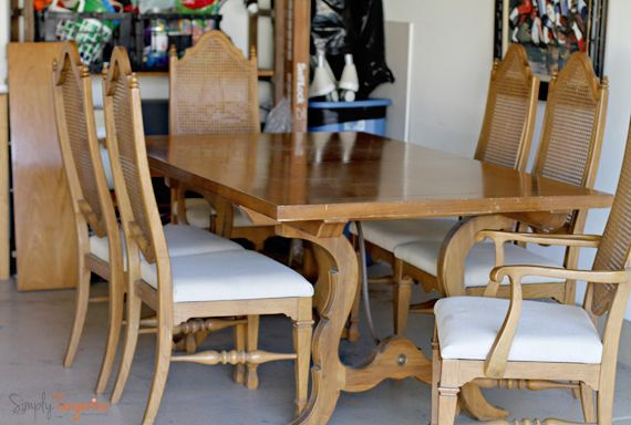 Updating A 1962 Thomasville Dining Room Table And Chairs Dining Room Table Dining Room Sets Dining