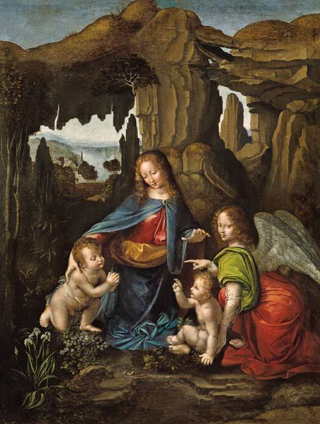 Virgin of the Rocks - Wikipedia