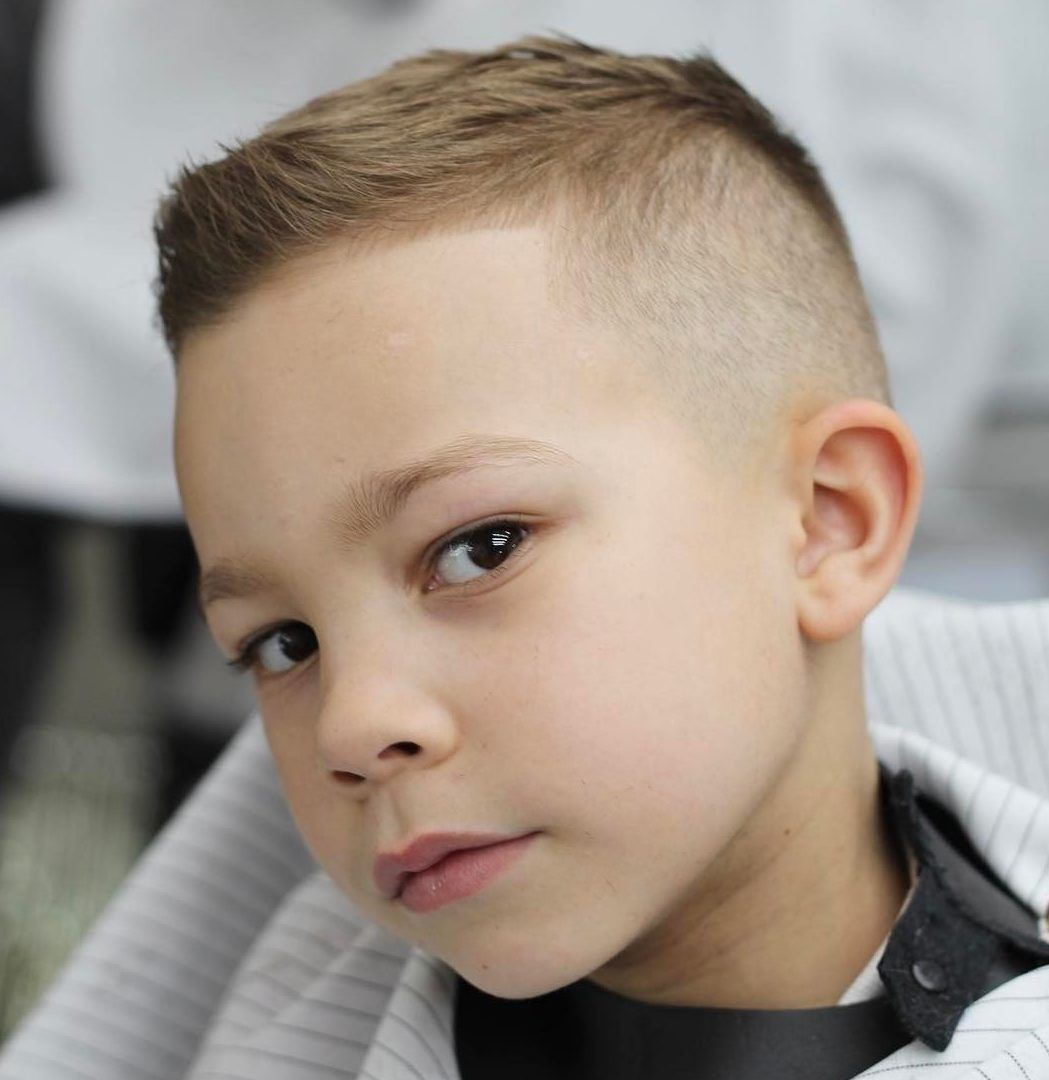 Pin By Holly Green On For Conner Boy Haircuts Short Boys Fade