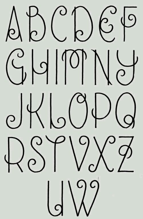 Font For Art Book