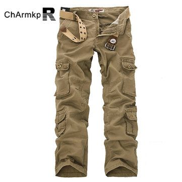 ChArmkpR Mens Military Outdoor Loose Large Size Cotton Multi ...