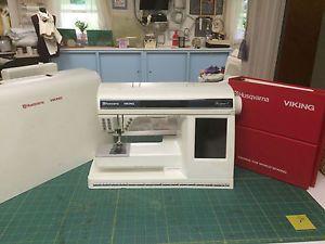 Details about Husqvarna Viking Designer 1 Computerized Sewing Machine ...