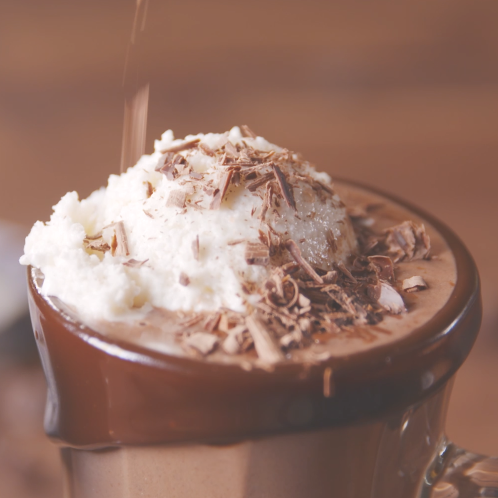 Homemade hot chocolate is super fudgy and wayyyy more delish than packaged mix Its also insanely easy to make on the stovetop Top off each mug with a big scoop of vanilla...