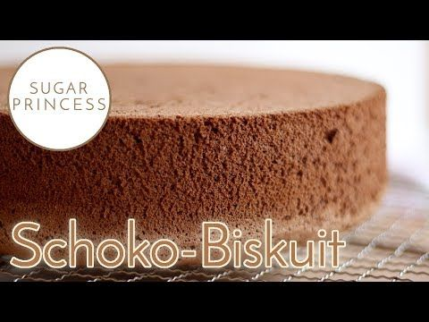 Chocolate biscuit basic recipe - super high and fluffy