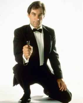 """Timothy Dalton- Bond #4. Appeared in 2 movies, """"The Living Daylights"""" and """"License To Kill."""""""