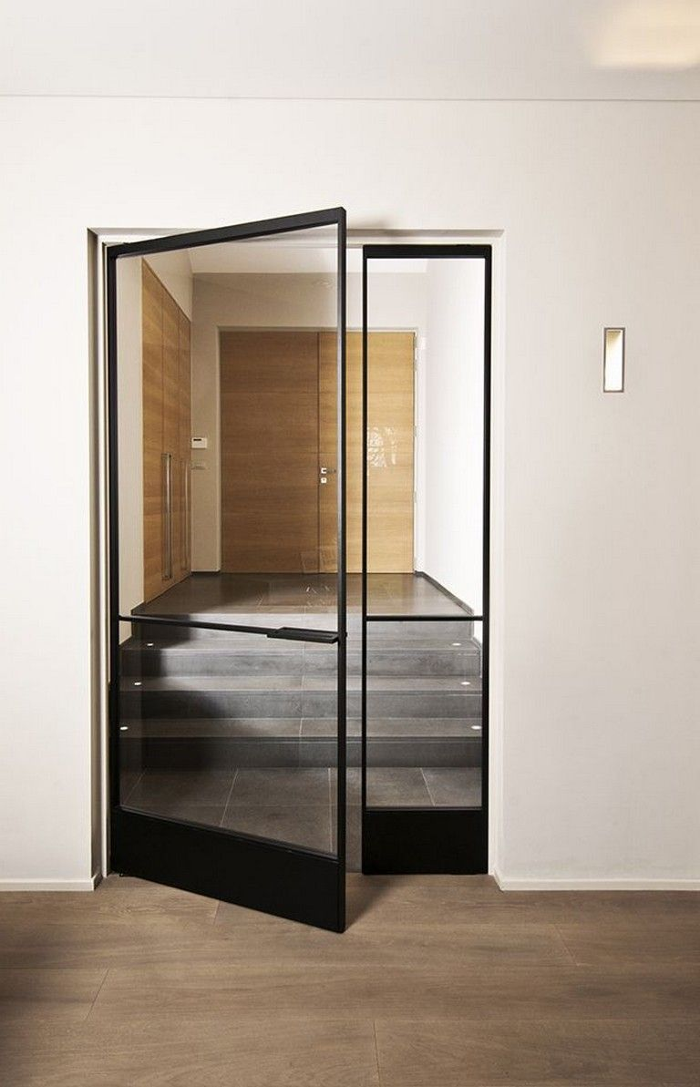 20 Admirable Trendy Black Front Doors For 2018 Glass Doors Interior Door Glass Design Wrought Iron Doors