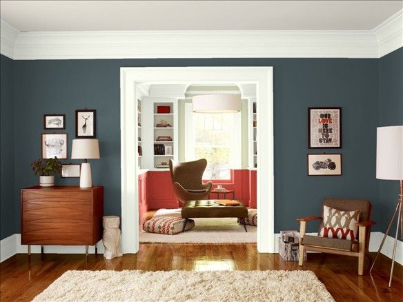 Benjamin Moore Personal Color Viewer Living Room Red Living