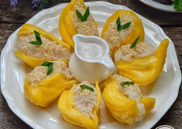 Resep Ketan Nangka Ala Thai Oleh Susi Agung Resep Makanan Ringan Sehat Resep Masakan Makanan Dan Minuman