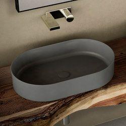 Ceramica Cielo Lavabo Shui.Shui Comfort Bacinella D Appoggio Lavabi Lavandini