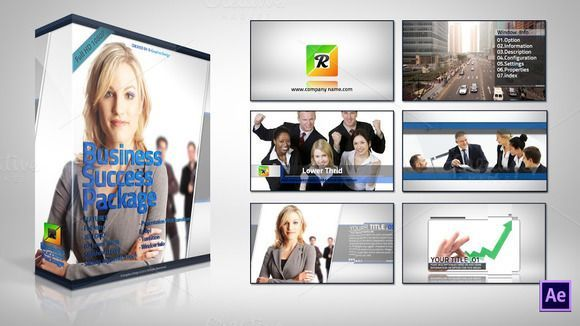 cool Business Success Package template  CreativeWork247 - Fonts, Graphics, ...