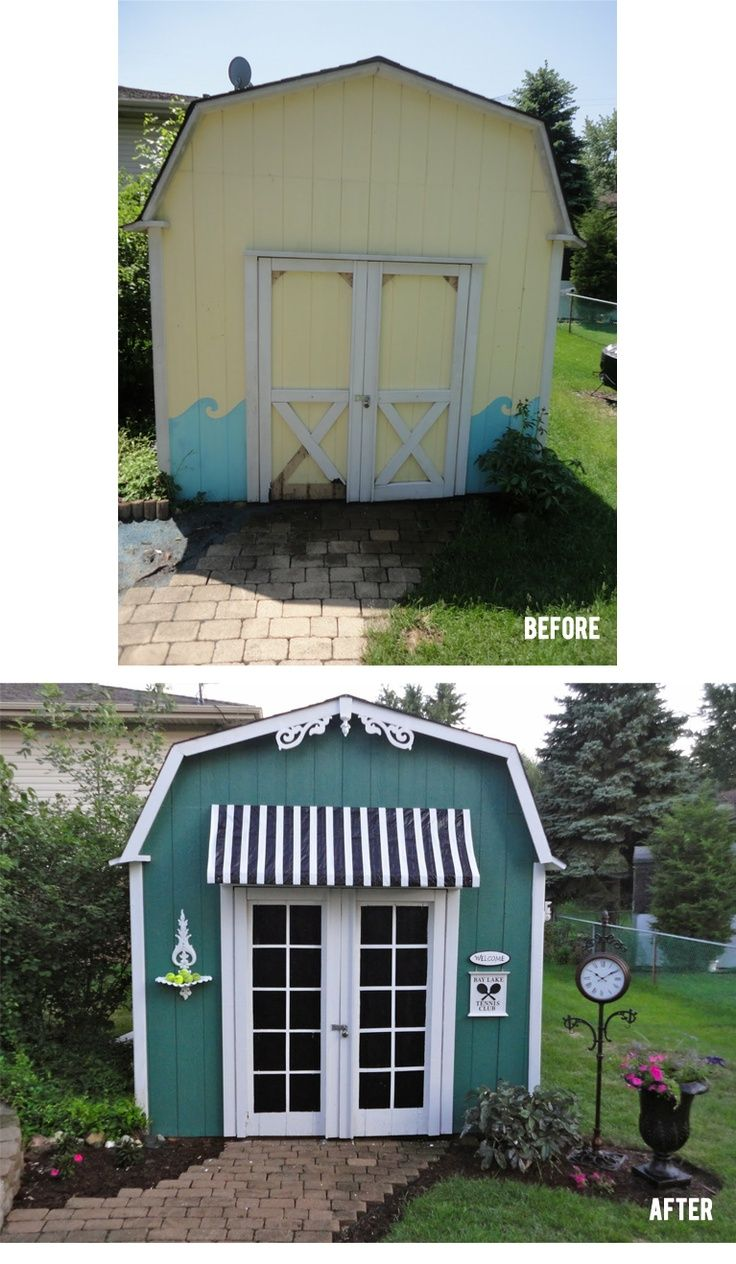 This Is One Great Example Of Turning A Boring Shed Into Something  Breathtaking. I Especially