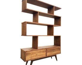 Image Result For Atomic Wood Wall Unit Mid Century Modern