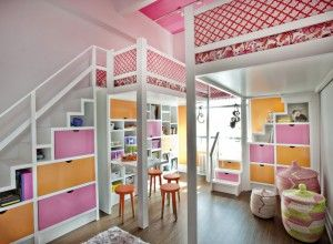 Best Kids Bedroom Ever best bedroom ever | readers' favorite: pink and orange lofted