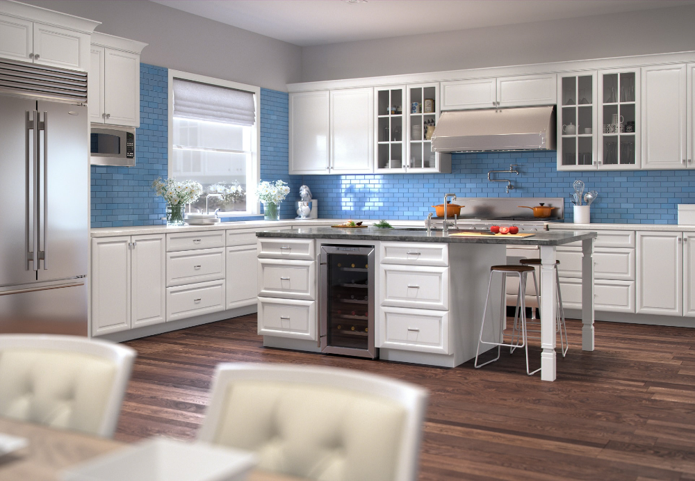 Creative Ways To Add Custom Color In The Kitchen The Rta Store