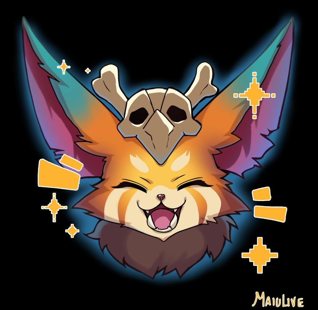 League Of Legends Halloween Emote 2020 Gnar League of legends Emote by MaiuLive on DeviantArt in 2020