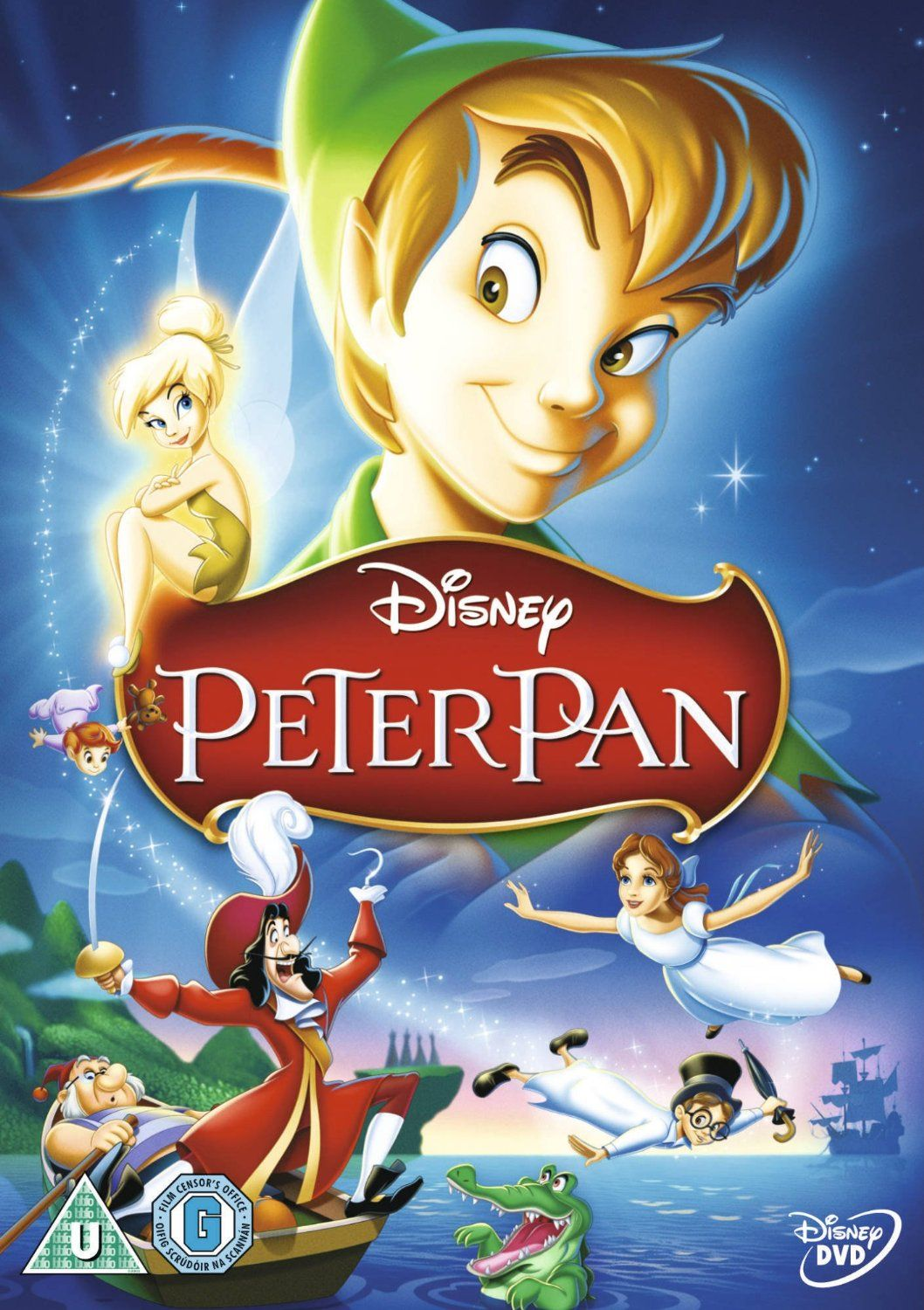 Peter Pan Dvd1953 Amazoncouk Bobby Driscoll Kathryn