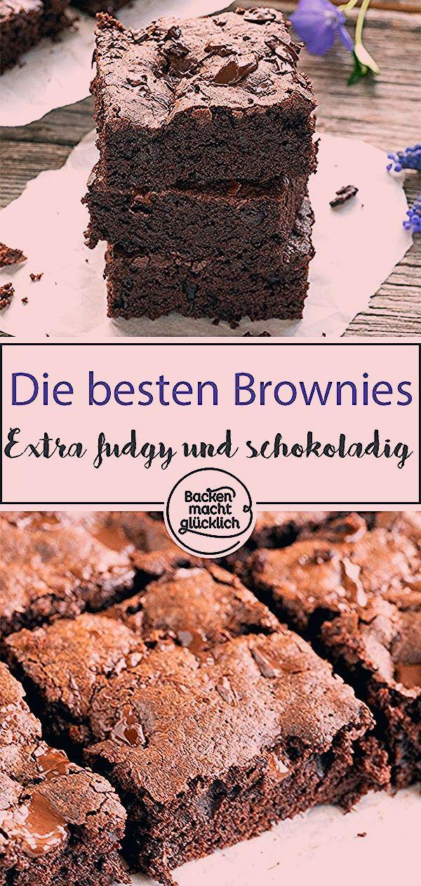 Das sind die besten Brownies überhaupt! Ungelogen. Bei diesem einfachen ultimativen Brownie-Rezept