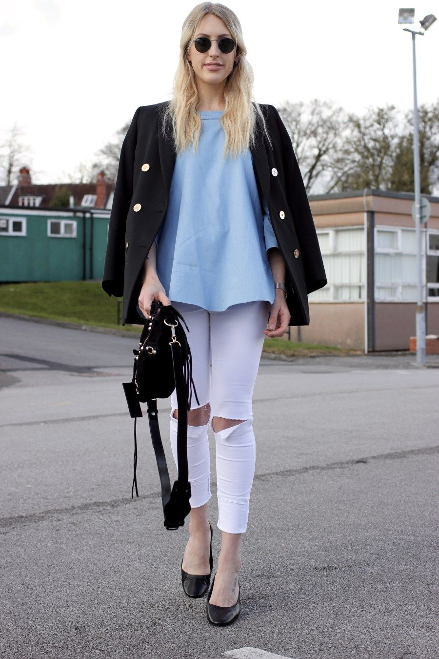 Spring outfit inspiration street style fashion blogger Charlotte Lewis Lurchhoundloves