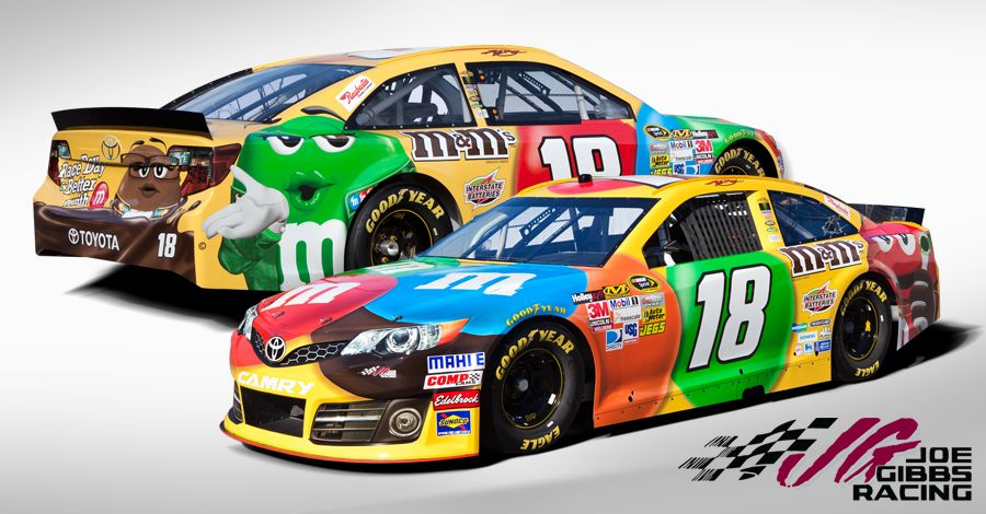 M M S Racing Kyle Busch Is In The New Issue Of Sports
