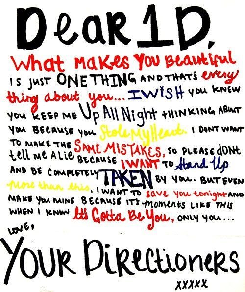 OMG ! The words ive been wanting to say (: 1D <3