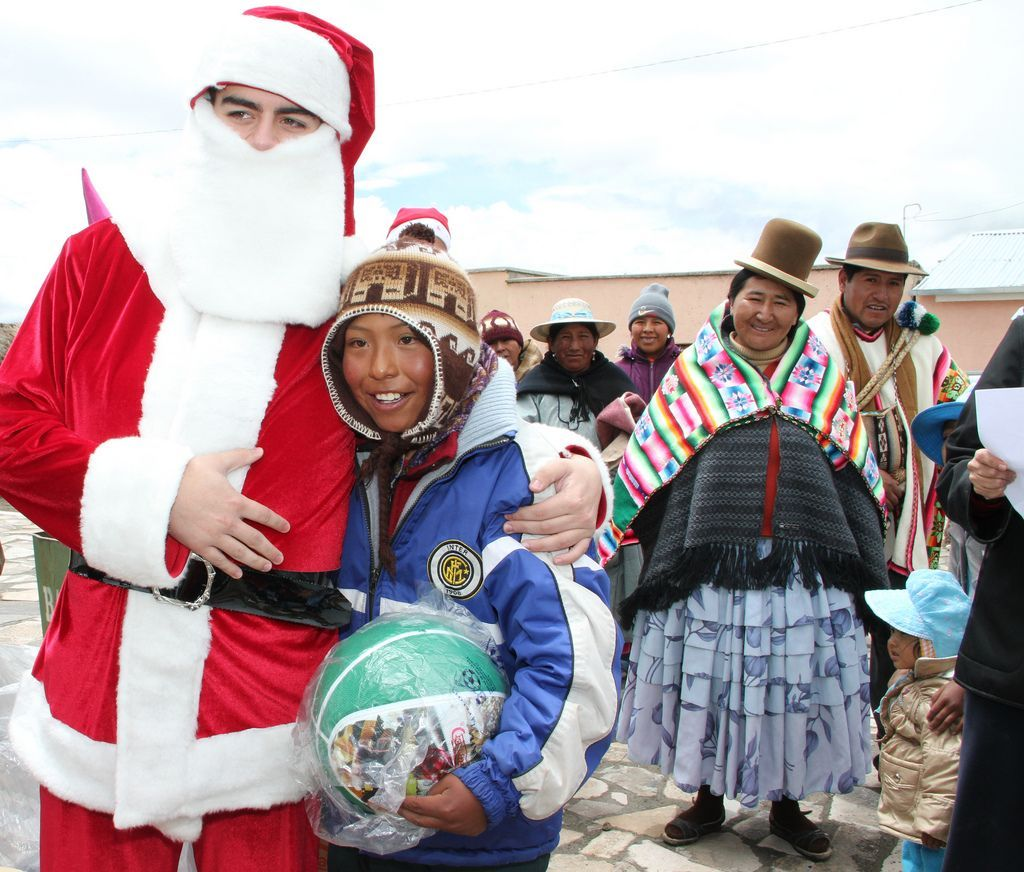 Christmas in Bolivia is full of traditions, including Christmas carols, nativity scenes, traditional foods, and gift baskets for employees. Learn how Bolivian's celebrate.
