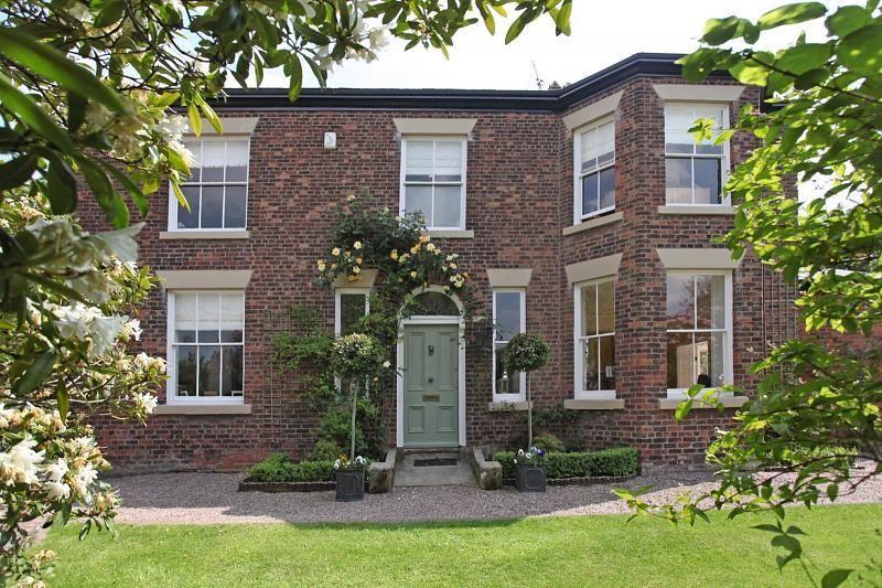 Image result for sage green front door red brick Green