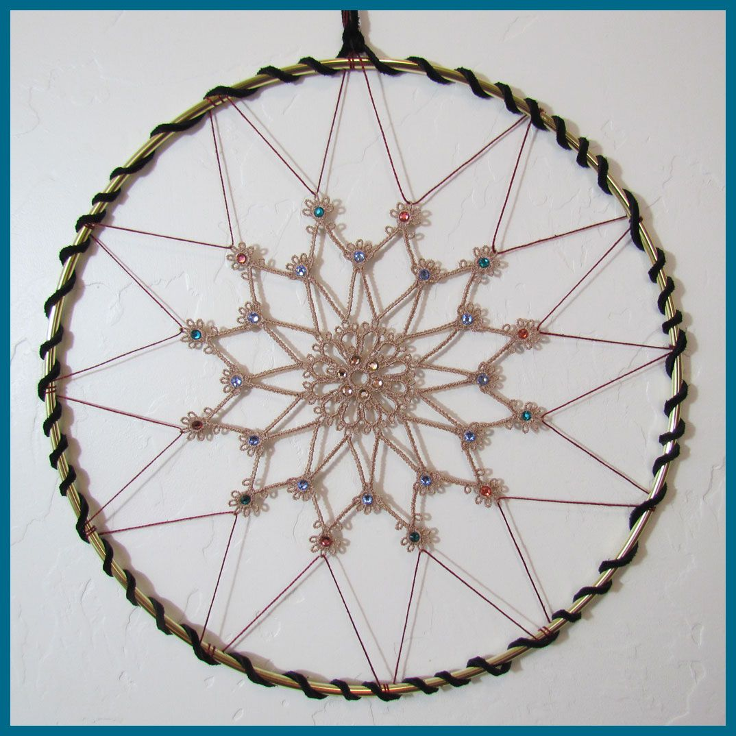 How to make dream catchers step by step with pictures for How to make dreamcatcher designs