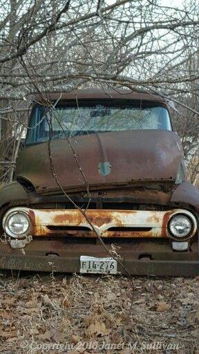 Back roads of Maine...Rusty Beauty!