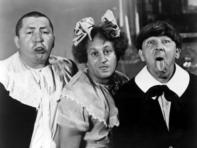 The Three Stooges: Dark Side of the Slapstick Moon - Maglomaniac