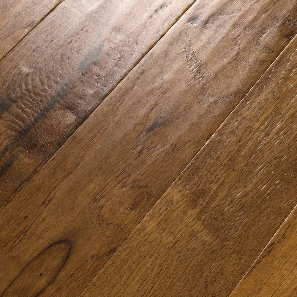 Amazing texture is hand scraped into these planks for Hand scraped wood floors