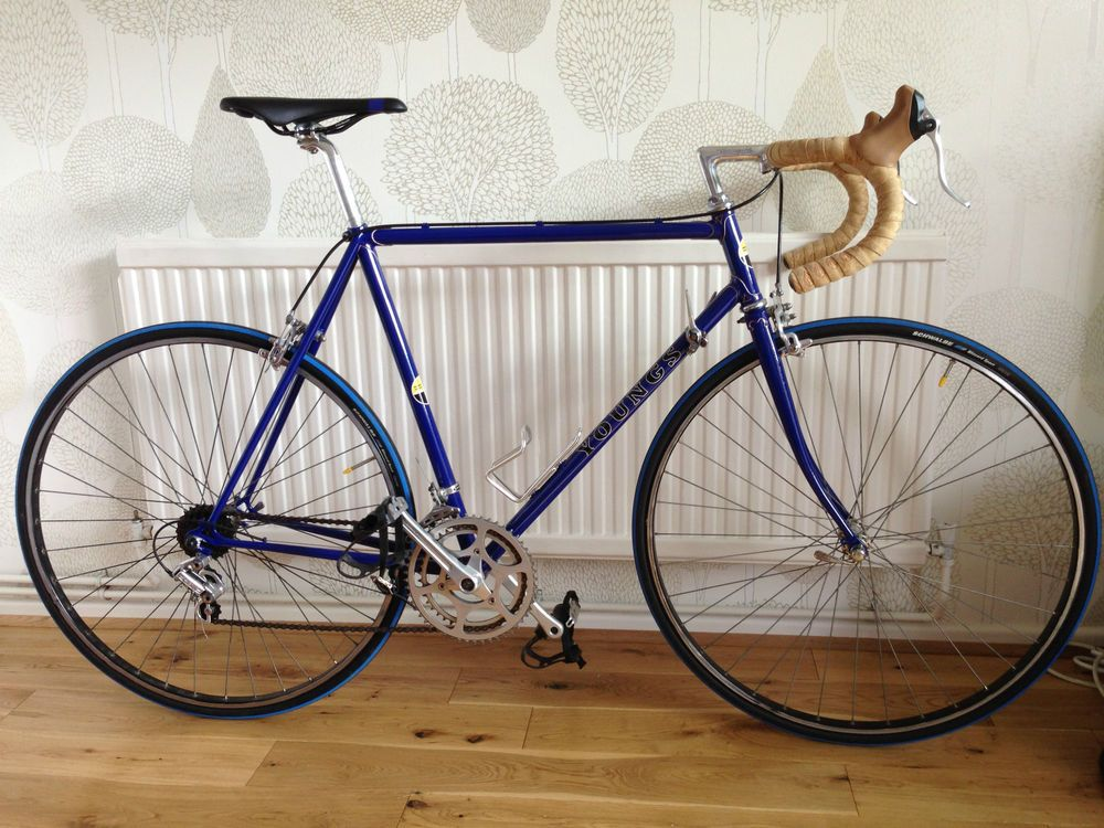 Youngs Vintage Road Bike Retro Racing Cycle Lightweight 56cm In Vgc Road Bike Vintage Cycling Race Road Bike