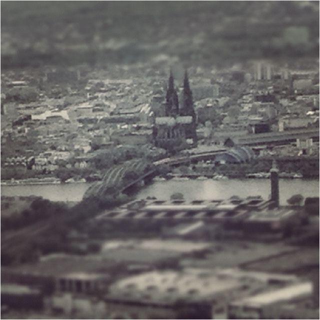 Koln Von Oben Welt Stadt