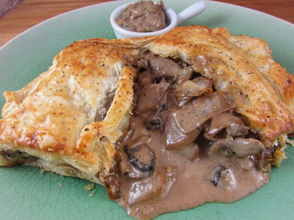 Peppered Steak Puff Pastry Slice - BiaMaith.ie | Recipe ...