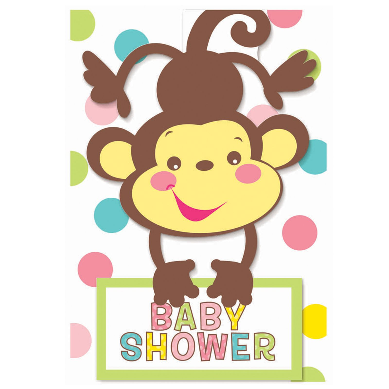 Blank Baby Shower Clip Art | Fisher Price Baby Shower Invitations ...