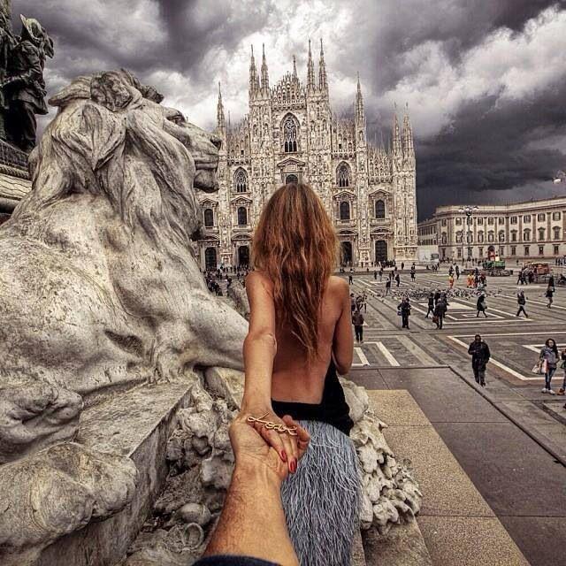 Follow me #murradosman #duomo #milano