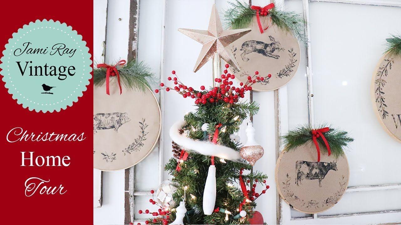 Christmas Decorations Handmade Home Tour 2018 Youtube Handmade Christmas Decorations Diy Christmas Decorations Easy Easy Christmas Diy
