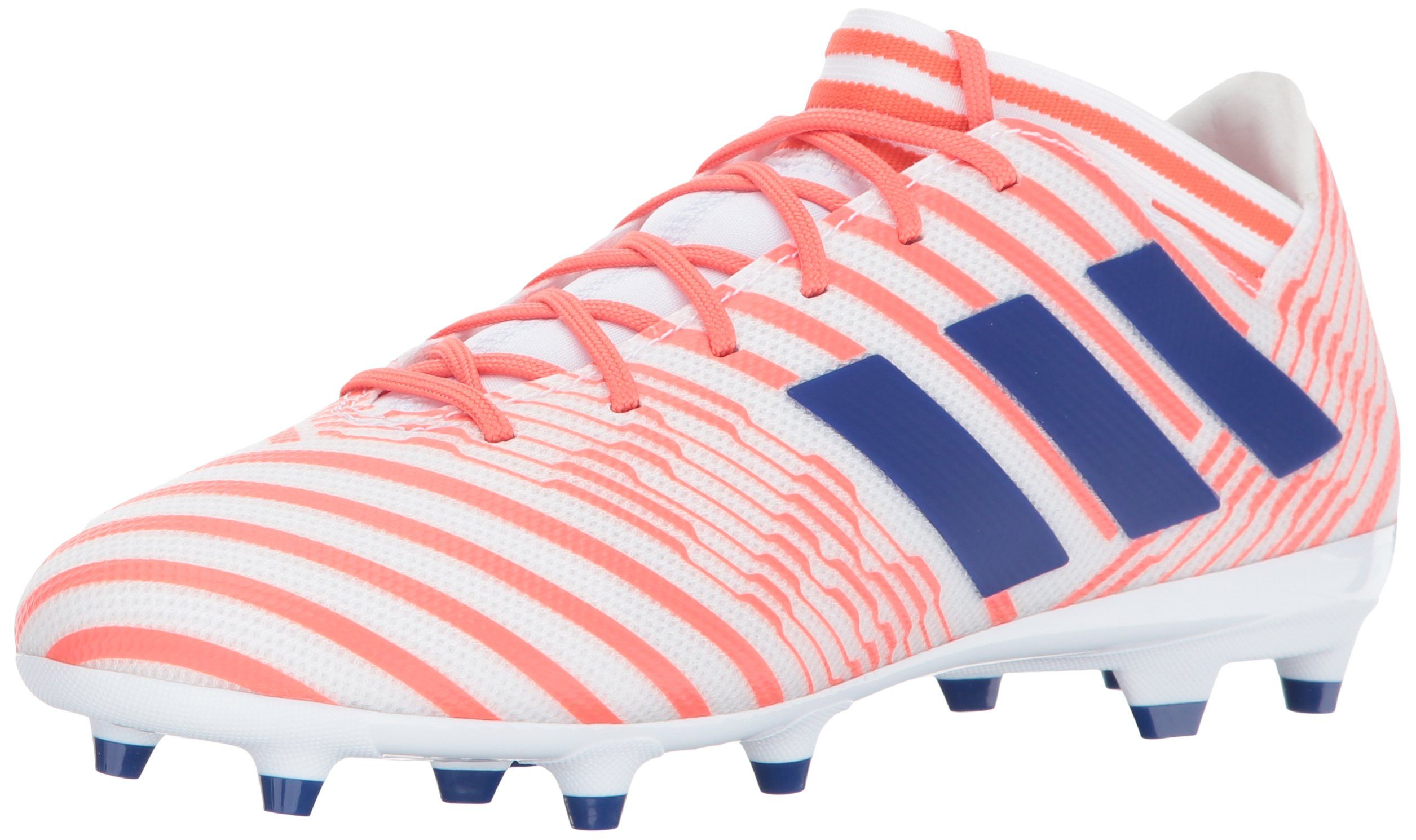 adidas Performance Womens Nemeziz 17.3 FG W Soccer Shoe White Mystery Ink Easy  Coral 9 Medium US -- You can get additional details at the image link. 580ea924a4811