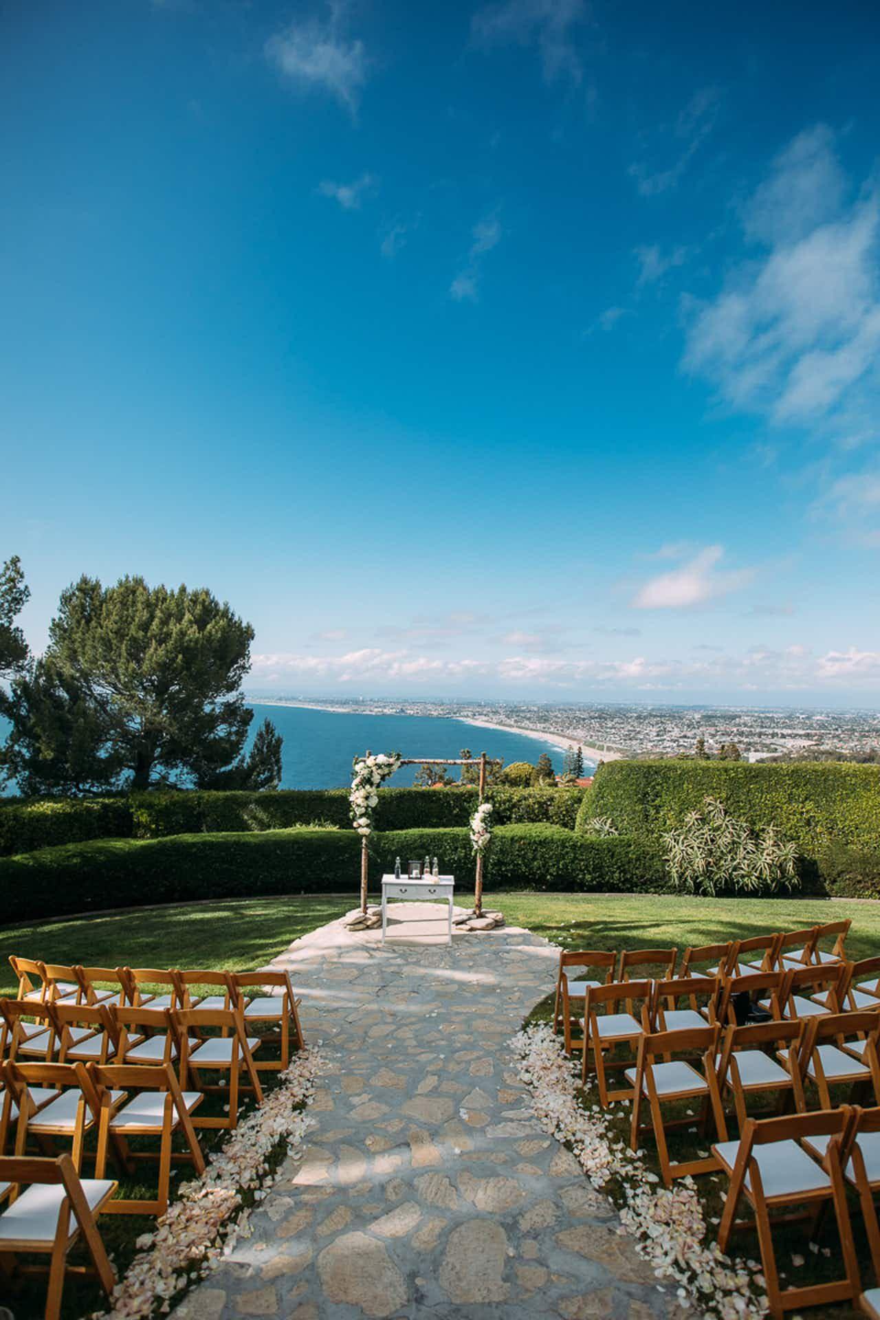 La Venta Inn Palos Verdes Estates Wedding Los Angeles