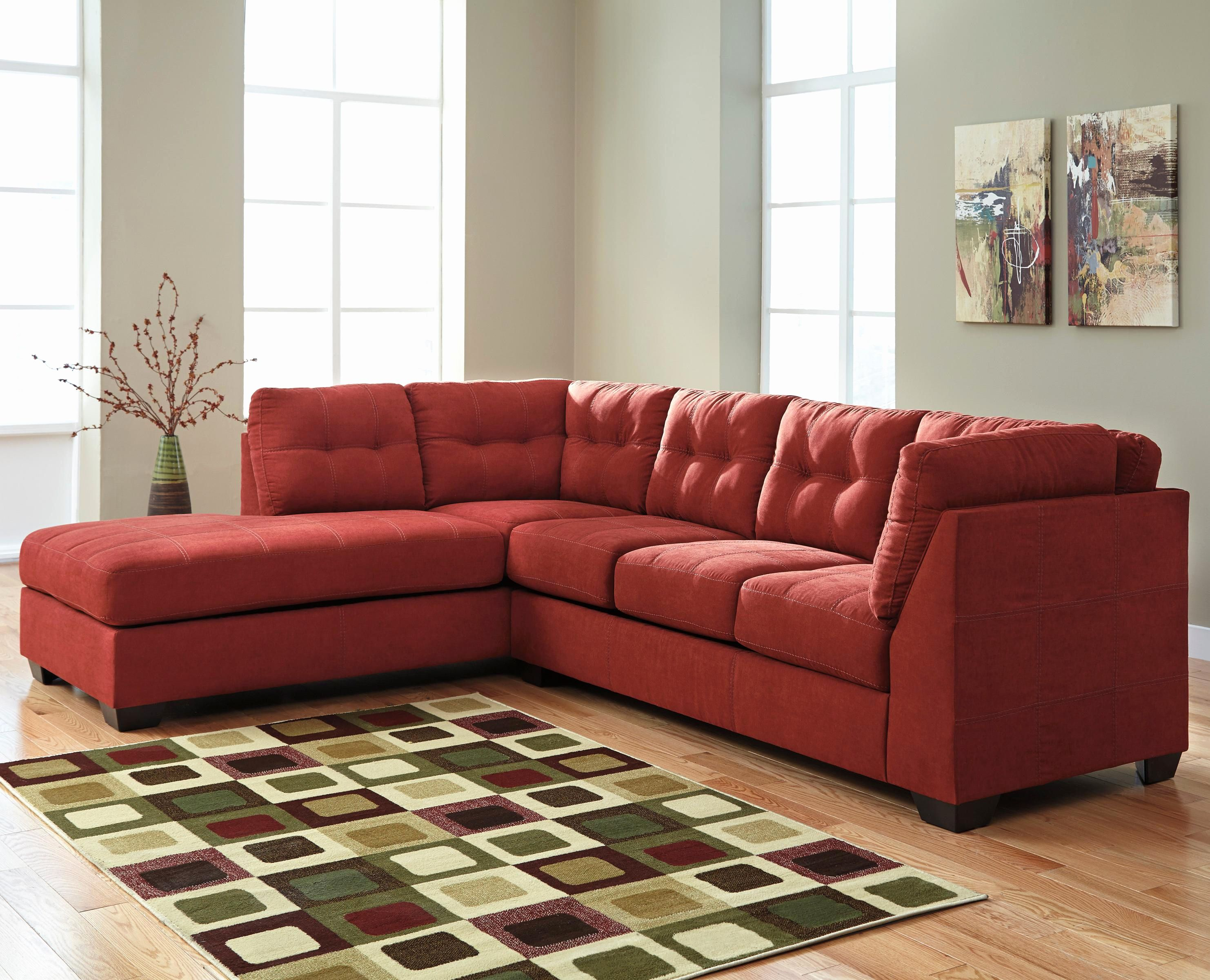 Ideas Red Sectional sofa with Chaise Photos Red Sectional sofa with ...