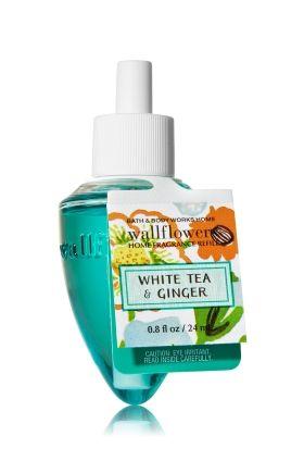 White Tea Ginger Wallflowers Fragrance Refill Home Fragrance 1037181 Fragrance Home Fragrance Bath And Body