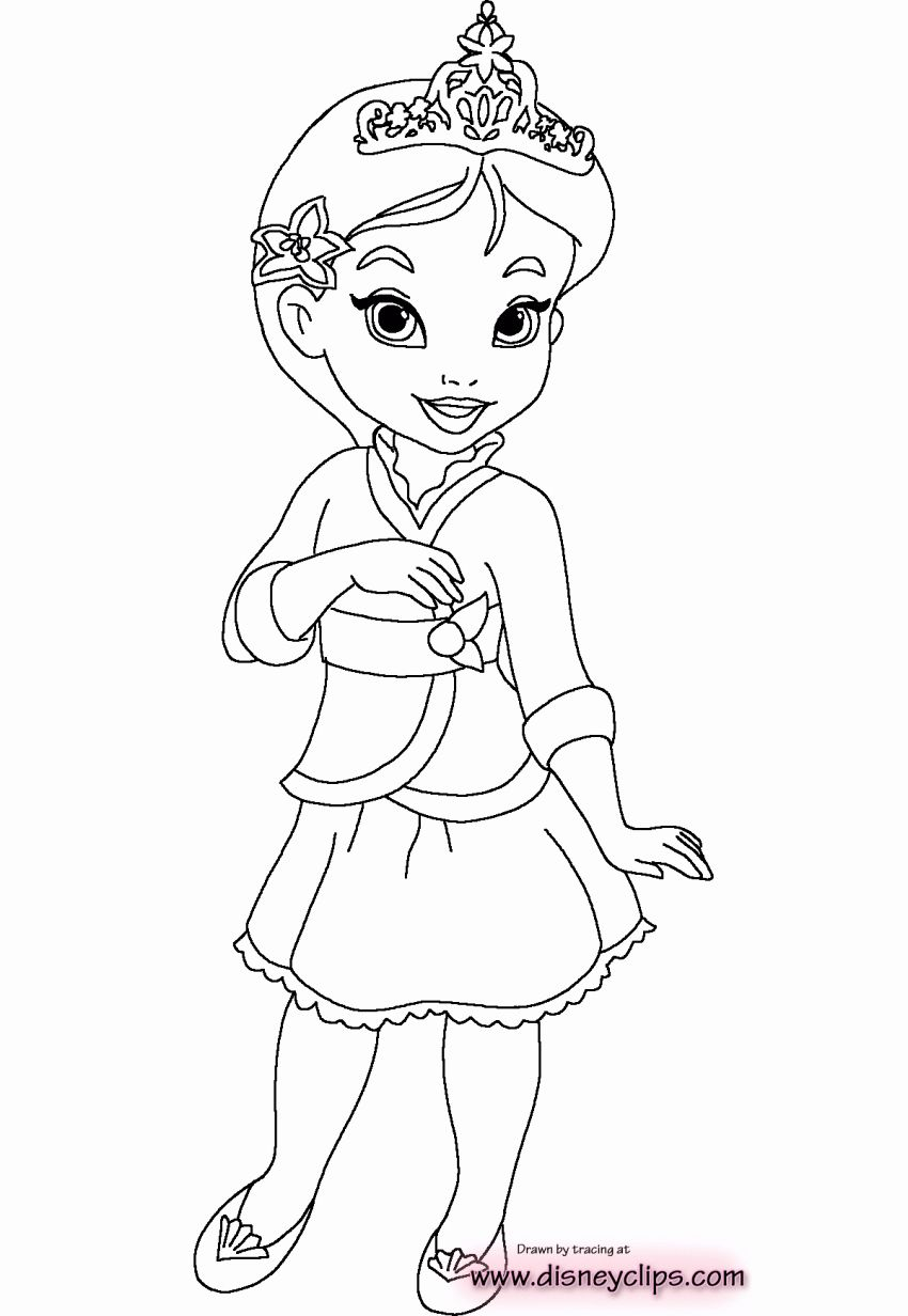Machinesousefepiy Cinderella Baby Disney Princess Coloring Pages