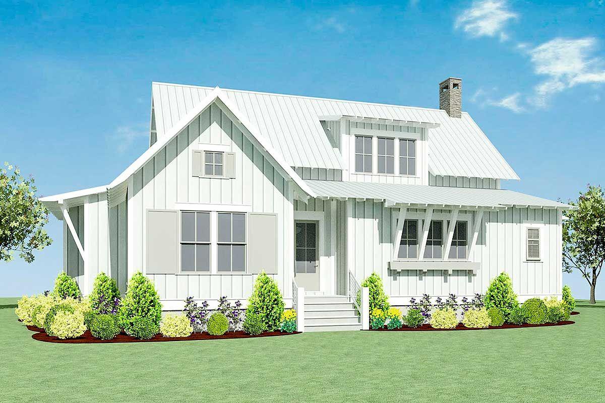 Plan 130005LLS Exclusive Four Bed Farmhouse Plan