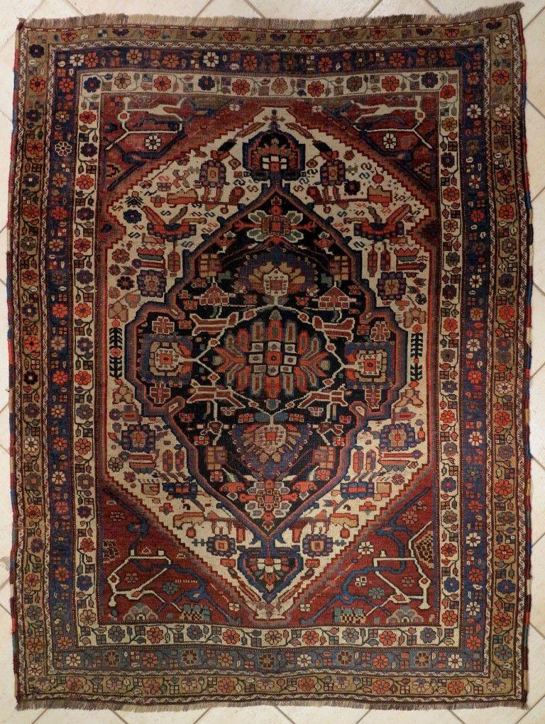Qashqai, Gashgay 190x146. 1890 1900.