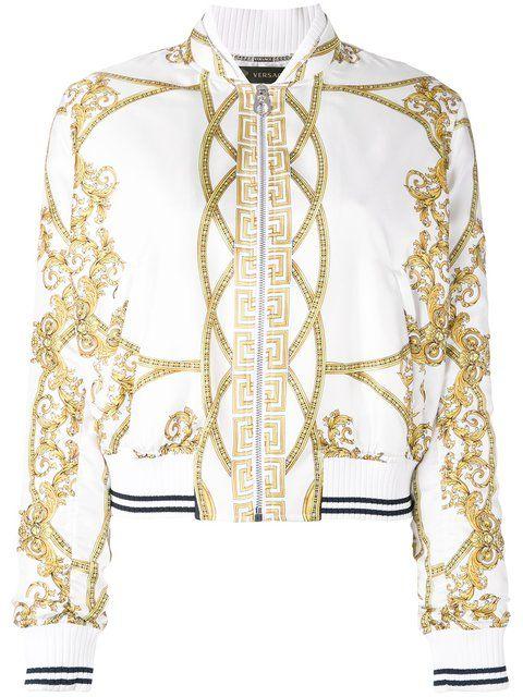 Versace La Coupe Des Dieux Bomber Jacket Versace Cloth Jacket