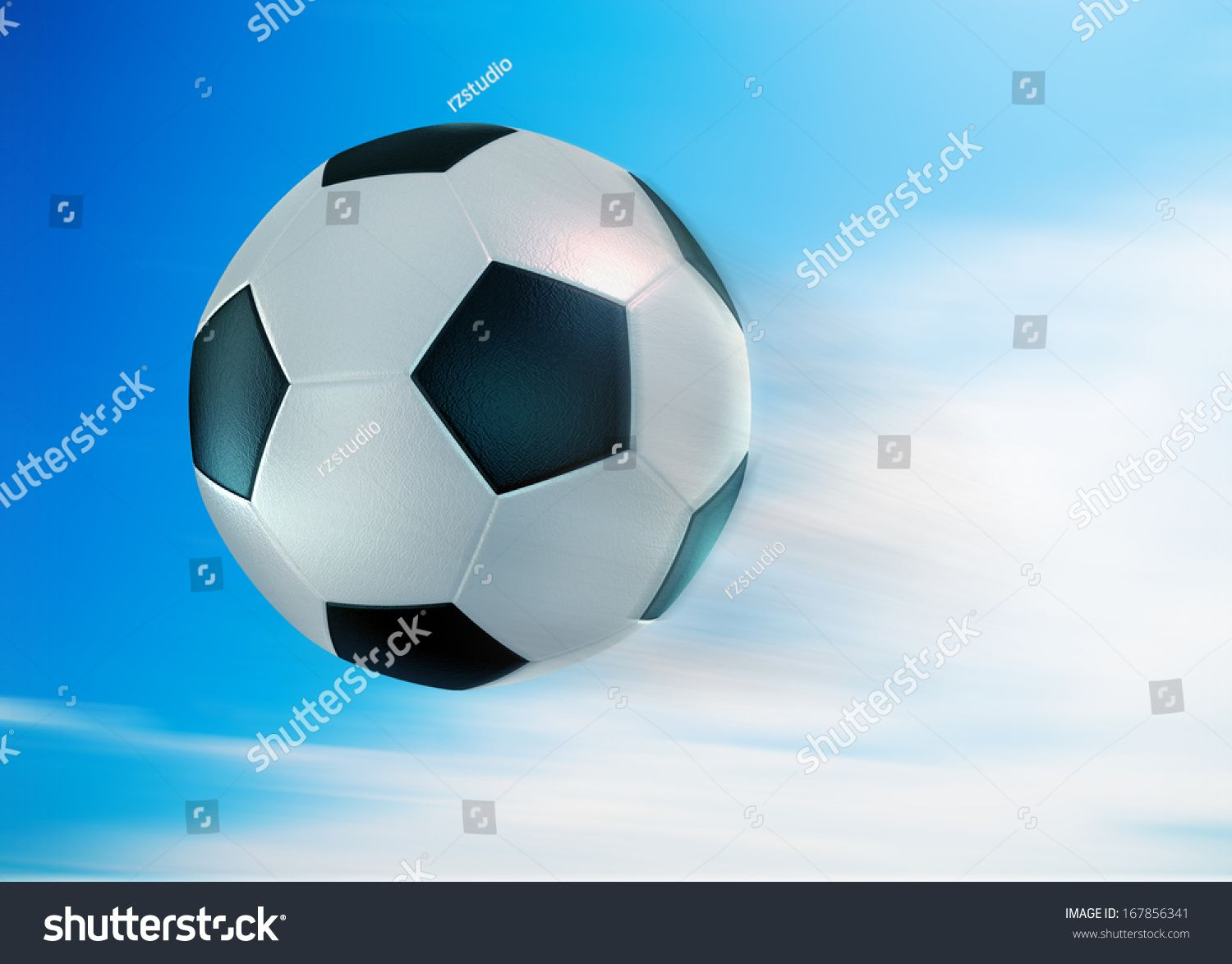 Download Soccer Football With Blue Sky Field Ad Ad Football Soccer Blue Field Football Score Football Cartoon Styles