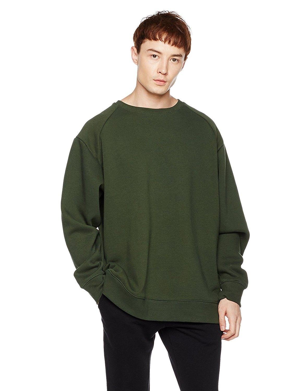 FOTL Men/'s Zip Neck Sweatshirt Premium Sweat Jacket Quarter 70//30 Zip Neck Top