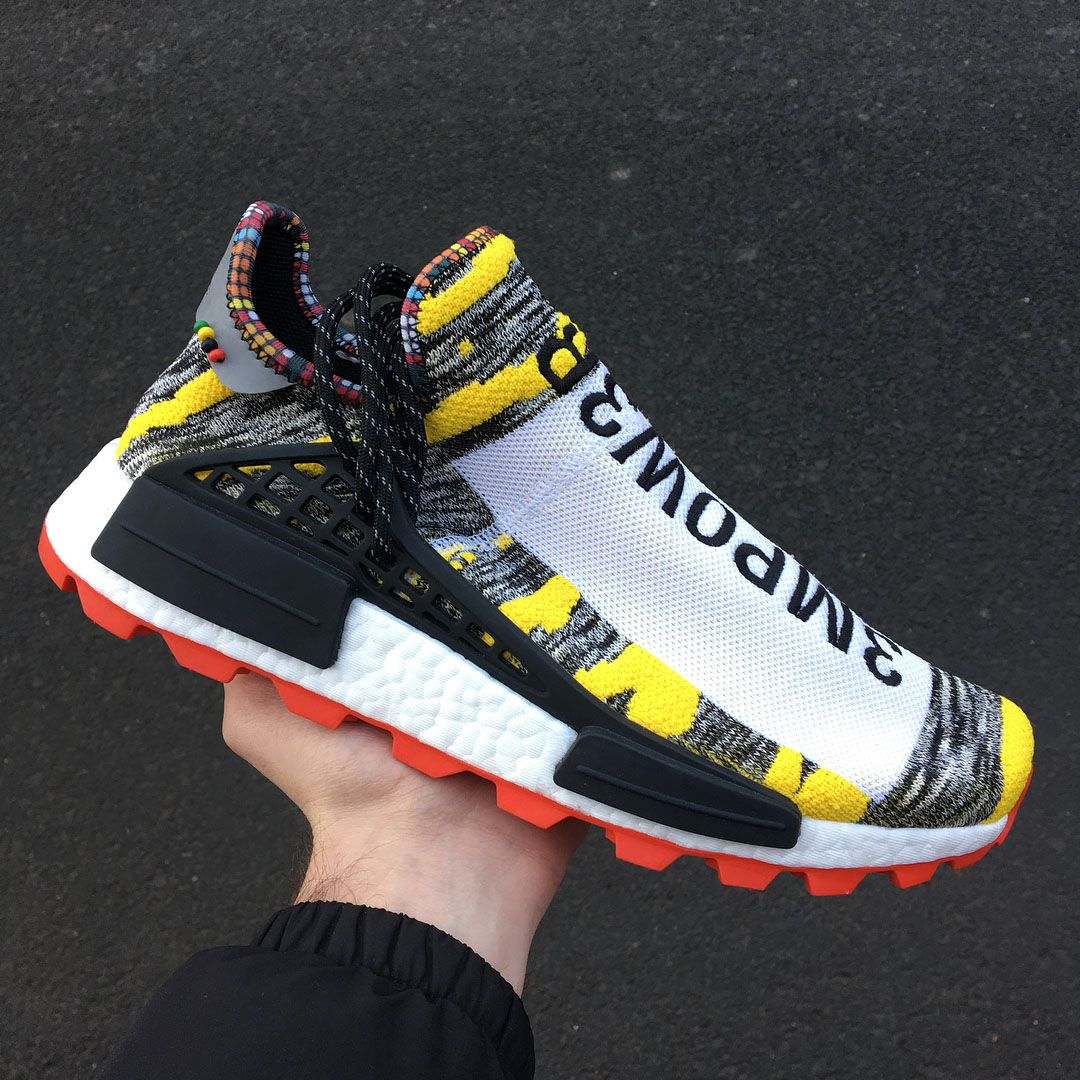 buy popular 819be 68373 A Closer Look At The Pharrell Williams x adidas Originals NMD Hu Afro   Closer Look  The Sole Supplier
